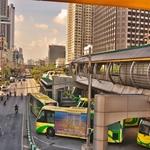 「BRT(Bus Rapid Transit)」~バンコクでまだ乗っていなかった公共交通機関の1つに乗車!!