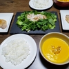 【マジックブレットで作る】ラクちん濃厚かぼちゃスープでステーキディナー