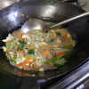 幸運な病のレシピ( 967 )昼:青梗菜と牛肉の八宝菜風