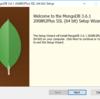 Windows版MongoDBのインストール・MongoShellを通してCRUDコマンドを打ってみる