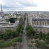 フランスの贅沢な景色 ~凱旋門から見るパリ市街&ルイヴィトン本店~