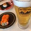 「はま寿司」 生ビール