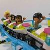 レゴ フレンズ 遊園地 ジェットコースターセット 41130 で2歳の娘と遊んでみたよ。
