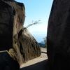 宮島・弥山下りコース くぐり岩:廿日市市