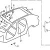 マツダが樹脂製パノラマルーフに関する特許を出願中です。