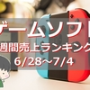 【ゲームソフト週間売上ランキング】Switchの常連タイトル『マリオカート』や『スーパーマリオ 3Dワールド+フューリーワールド』などが再びランクイン!【6/28~7/4】