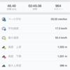 週末練習(土バイク48km/日ラン8km/海スイム1.8km)