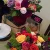 7日目のバラと今日のバラ