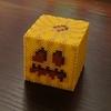 【アイロンビーズ3D】マイクラ風カボチャ(ランタン作製その1)
