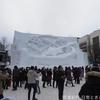 雪まつりで大雪像をメインに見てきました