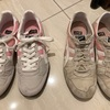 足に合ったサイズのスニーカーを履いて半年、1年前にキツかった靴がゆるくなった!
