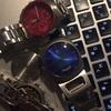 腕時計の電池を交換した
