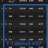 2021/05/10 12 ダニエルズ式4週サイクル25/26