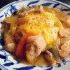本日の朝食はあんかけ中華オムレツ♪<おうちごはん>