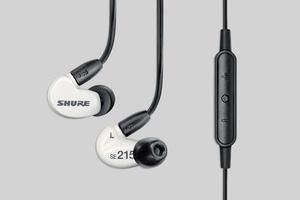 【Shure/SE215m+ Special Edition】リモート+マイク・ケーブルを新装備した超人気定番イヤホン!