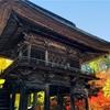 長野県大町市「霊松寺」の紅葉、2017年は今が見頃。