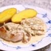 鶏肉のマスタードソース