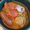 ココナッツミルクトマトキャベツ鍋