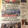 【山バスク】『酒場放浪記』の吉田類さんのバスク、アルデュード渓谷訪問のニュースが地方紙の一面を飾りました