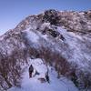 阿弥陀岳北稜、赤岳主稜を継続登攀