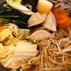 3/27 おうちばんごはん〜水餃子鍋と八戸せんべい汁〜