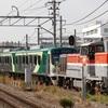 甲種輸送 at 長津田 - 久々の東急7000系追加投入