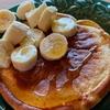 桑名もち小麦Pancake Mixでとても美味しいパンケーキができました!( Mochi Wheat Pancake Mix made a very delicious pancake!)