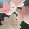 カリグラフィーレッスンで、桜のカードを!