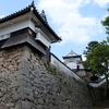 仰ぎ見る山城の備中松山城
