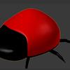 バーチャルキャスト用の背景を作ろうと思ってたのに気がついたらテントウムシを作りはじめていた