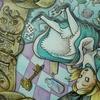 完成】水彩+色鉛筆でアリス塗り絵制作過程(メイキング)です☆塗り絵セレクション・不思議の国のアリスより