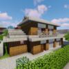 プレハブ住宅と和風住宅