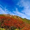 紅葉に染まる山を歩く…そして3000mの頂へ…