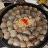 今、流行りの貝鍋