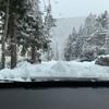 白馬で美味しい蕎麦と雪道ドライブ