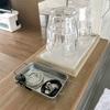 無印の画鋲を使ってキッチンの輪ゴムをスッキリ収納!