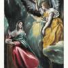 エル・グレコ 「受胎告知」 人類の創生から終末までが描かれている