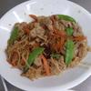 幸運な病のレシピ( 1676 )朝:鱒、塩サバ、豚しぐれ焼き、煮しめ、味噌汁、マユのご飯