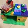 LEGO お城を作っていたらカラフルな家になったらしい 【LEGO】