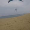 砂丘を上ること  飛んだこと