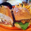 Blackened Catfish Po'Boy @ Bluz By-You