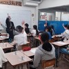 オンライン授業から通塾に移行中です。
