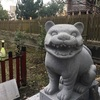 狛虎の神社
