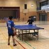 「どこでどんな練習をしてきたの?」 鈴亀地区中学校協会杯卓球大会。