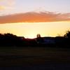 早朝の梅小路公園