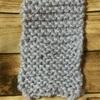 裏編みのガーター編み