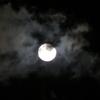 スパームーンの次の日の月!