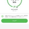 今年の年間走行距離目標は、500km!