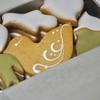 浅草の「菓子工房ルスルス」で鳥のかたちクッキー、フィナンシェ、マドレーヌ。