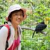 ベリーズ  Keel-billed Toucan (キールビルド トゥカン)との記念写真